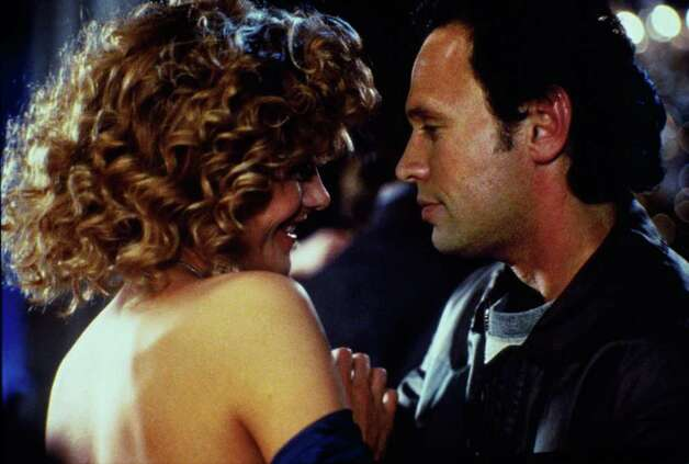 """When Harry Met Sally"" -- This New Year's classic shows Billy Crystal and Meg Ryan at their best. It's an unusually complex holiday romance. / handout slide"
