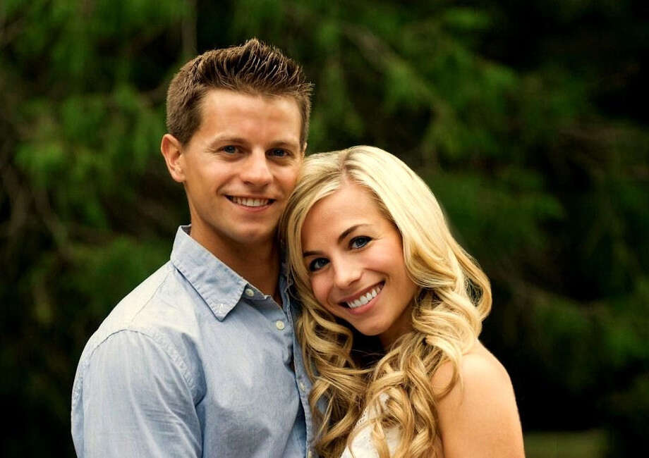 Kirsten Babich and John Lawrence are engaged. Photo: Contributed Photo / Fairfield Citizen contributed