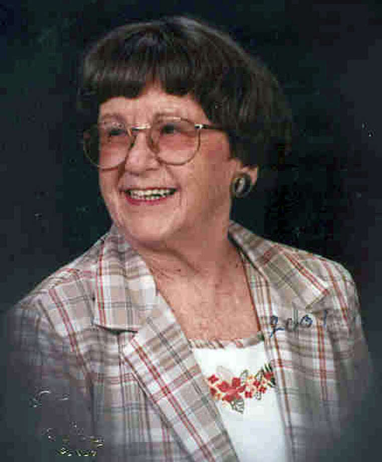 Dorothy Bissonnette: She also took up wood-carving. Photo: Courtesy Photo/Express-News