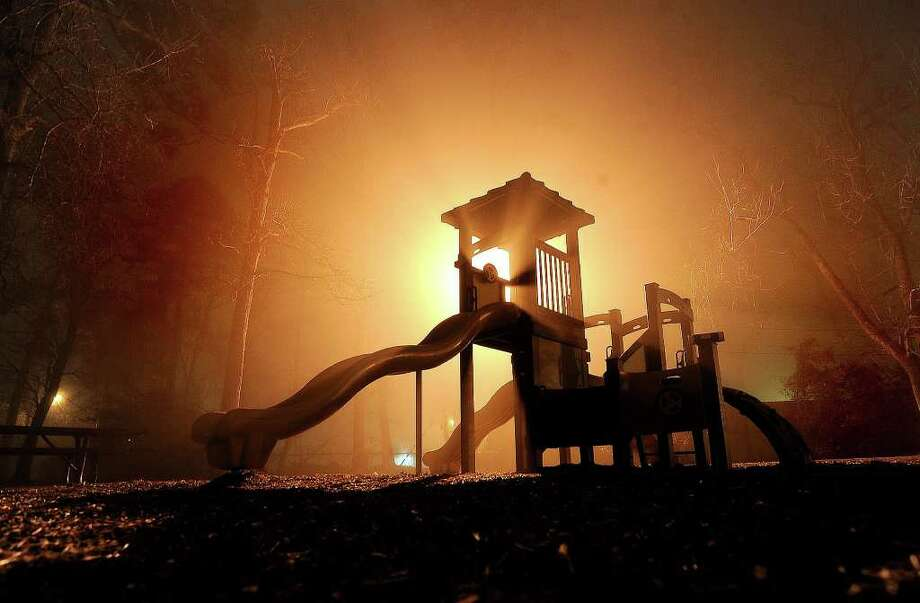Combest Park3395 Blackmon Laneplayground, benches, gazebo, picnic units(File photo) A fog rolls over playground equipment at Combest Park in Beaumont as the sun goes down on a late-winter afternoon. Published on March 4. Guiseppe Barranco/The Enterprise / Beaumont