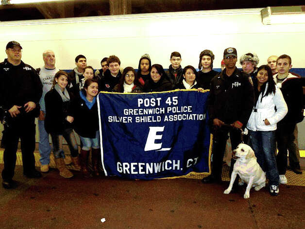 The greenwich police explorer post ventured on a trip to new york city