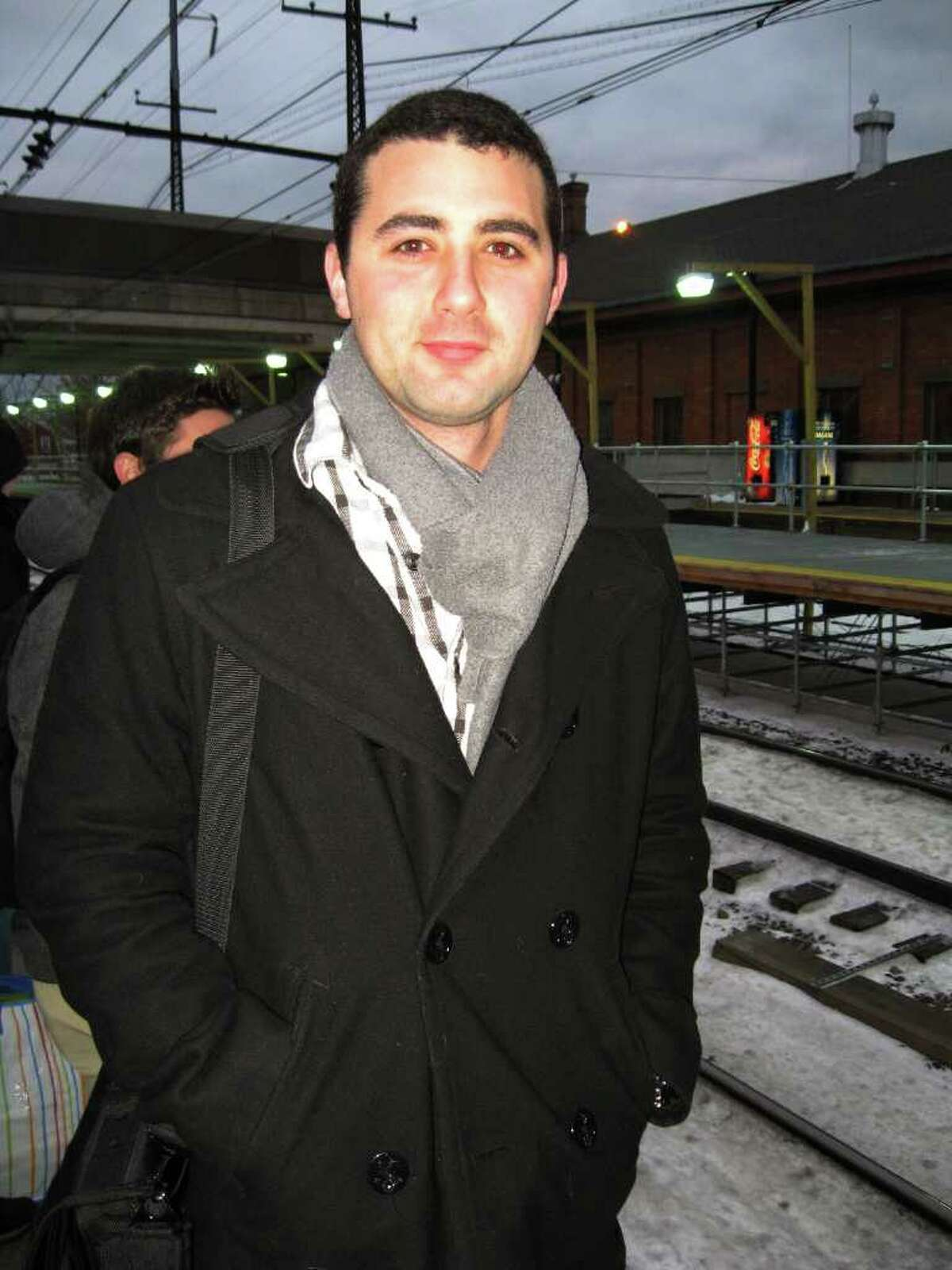 Ryan Fernandez waiting for a train in Fairfield, said that even though ticket prices are going up in January,