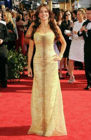 LOS ANGELES, CA - AUGUST 29:  Actress Sofia Vergara arrives at the 62nd Annual Primetime Emmy Awards held at the Nokia Theatre L.A. Live on August 29, 2010 in Los Angeles, California.  (Photo by Jason Merritt/Getty Images) Photo: Jason Merritt, Staff / Getty Images North America