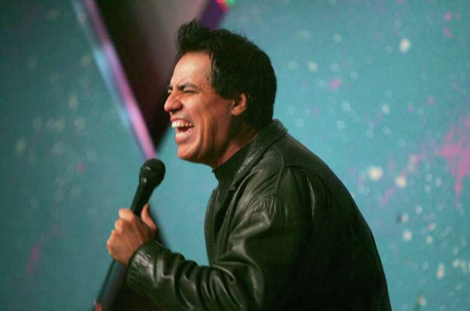 Comedian Willie Barcena performs at Rivercenter Comedy Club in 2008. Photo: Express-News File Photo / SAN ANTONIO EXPRESS-NEWS