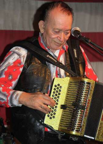 Flaco Jimenez at Freiheit Country Store in New Braunfels in November 2009. He was backed by Los TexManiacs. Photo: Robert Johnson/Express-News