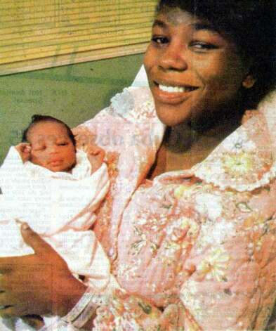 Marquita Monique Harris was born at 1:26 a.m. on Jan. 1, 1984 at Baptist Hospital's Women and Children unit. She was the first baby born in Beaumont this year. Enterprise file photo from Jan. 2, 1984