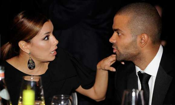 WASHINGTON - SEPTEMBER 15:  (AFP OUT) Actress Eva Longoria (L) and NBA player Tony Parker attend the Congressional Hispanic Caucus Institute's 33rd Annual Awards Gala at the Washington Convention Center September 15, 2010 in Washington, DC. President Barack Obama spoke at the event that Speaker of the House Rep. Nancy Pelosi (D-CA), Senate Majority Leader Sen. Harry Reid (D-NV) and New York City Mayor Michael Bloomberg were also scheduled to attend.  (Photo by Olivier Douliery-Pool/Getty Images) *** Local Caption *** Tony Parker;Eva Longoria Photo: Pool, Getty Images / 2010 Getty Images
