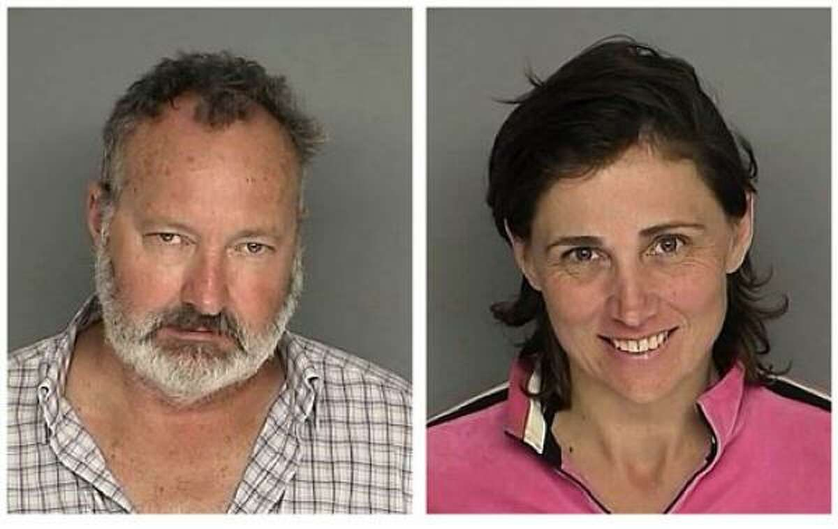 """Randy and Evi QuaidArrestedThe Quaids faced burglary charges when they allegedly squatted in a property they'd previously owned. Several warrants were issued for the couple. They then claimed the """"Hollywood star whackers"""" were out to get them and are now seeking refugee status in Canada. (Associated Press)"""