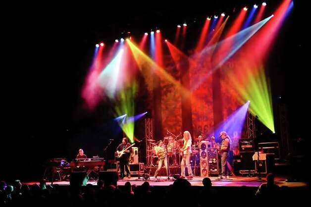 The Dark Star Orchestra, a Grateful Dead tribute band, will celebrate the New Year with two performances at the Klein Memorial Auditorium in Bridgeport, Thursday, Dec. 30, and Friday, Dec. 31. For information on tickets, visit fairfieldtheatre.org or call 203-259-1036. Contributed photo/Peter Wochniak Photo: Contributed Photo / Stamford Advocate Contributed