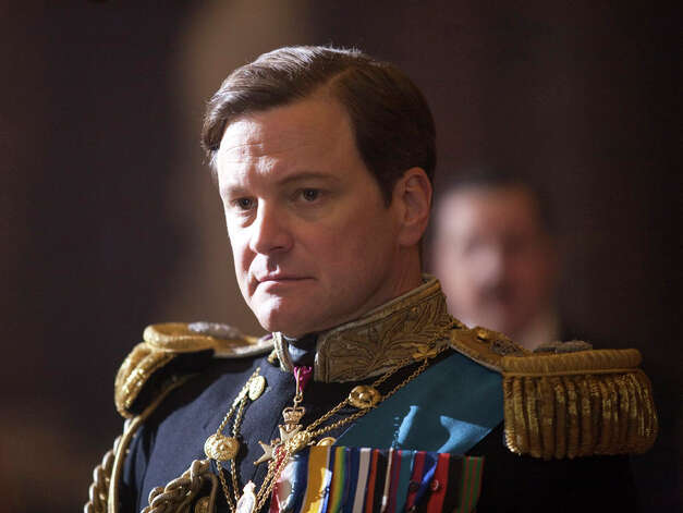 Colin Firth as King George VI in Tom Hooper's film THE KING'S SPEECH. (Laurie Sparham /  The Weinstein Company)