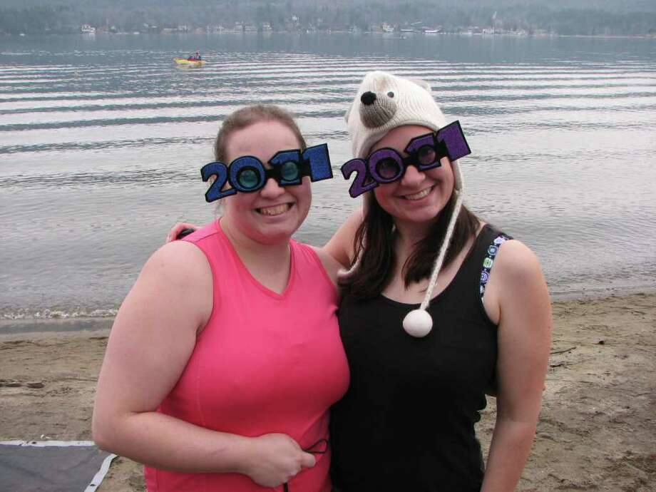 Were you seen at 2011 Lake George Polar Plunge? Photo: Michael Huber