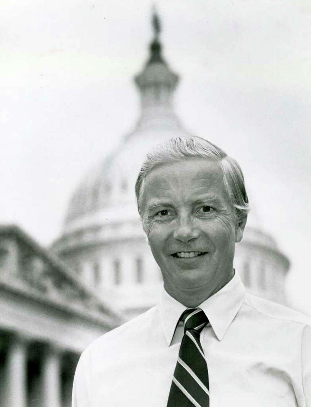 Congressman William Ratchford photographed in Washington in April 1979. Photo taken by News-Times photographer Stephen Szurlej.