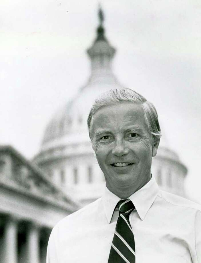 Congressman William Ratchford photographed in Washington in April 1979. Photo taken by News-Times photographer Stephen Szurlej. Photo: File Photo / The News-Times File Photo