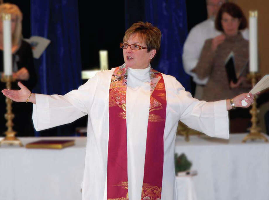 The Rev. Judith Rhodes will be the first woman to be rector of St. Paul's Episcopal Church in Fairfield. She will be formally installed during ceremonies Saturday. Photo: Contributed Photo / Fairfield Citizen contributed