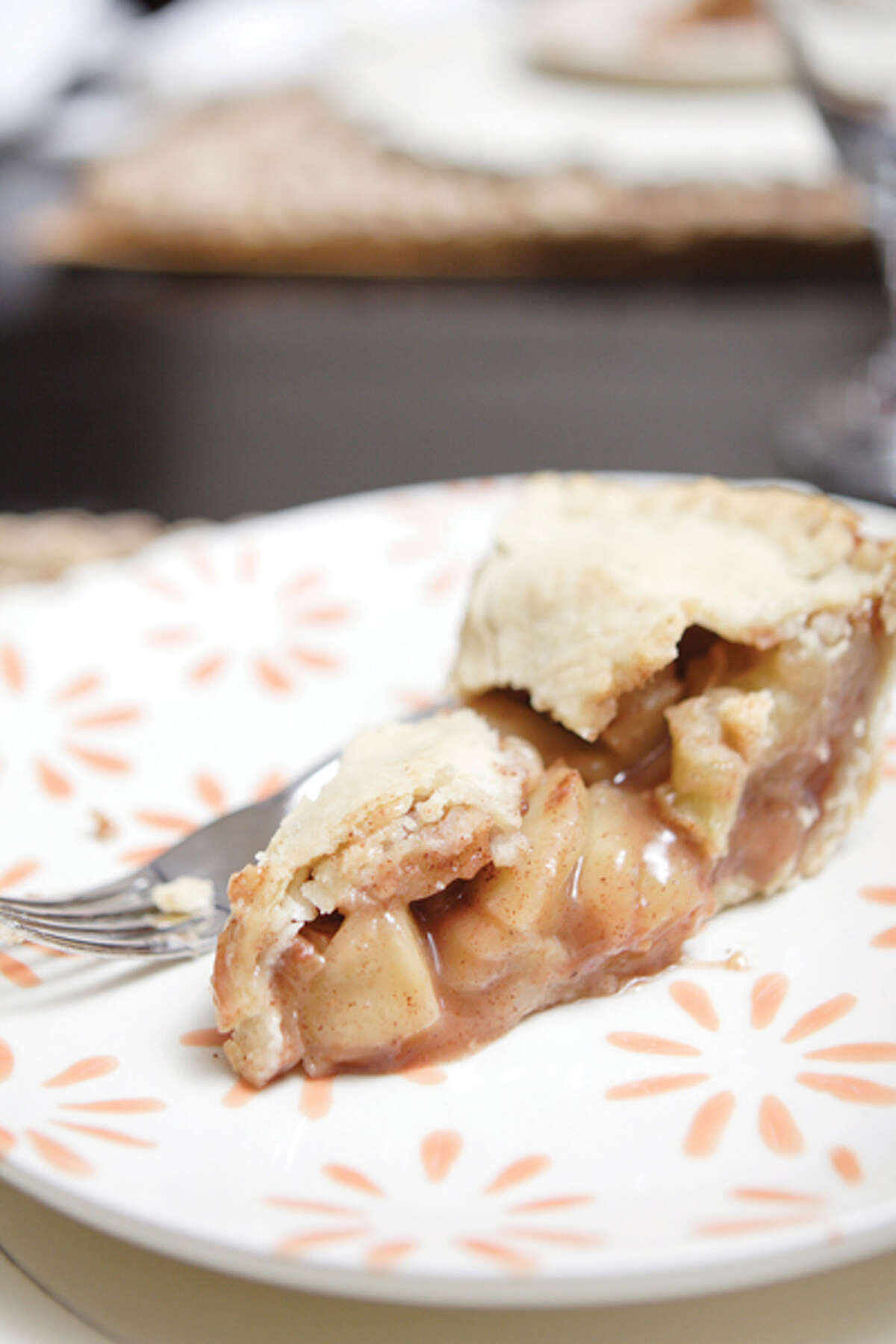 Chef Bobby Mallozzi is part of a Rotterdam-based family that oversees a veritable empire of eating establishments, including Villa Italia, the Brown Derby and the restaurant at Albany's Italian American Community Center. Shown here, Bobby's apple pie. (Suzanne Kawola/Life@Home) Click here to read the story.