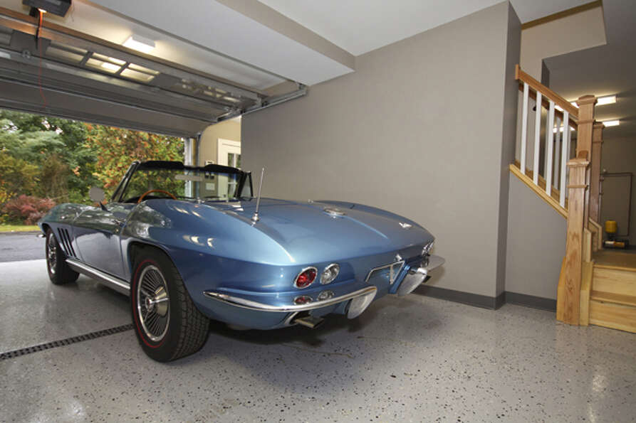 Rich Rosetti's historic carriage house was renovated around his classic car collection. (Nancy Bruno