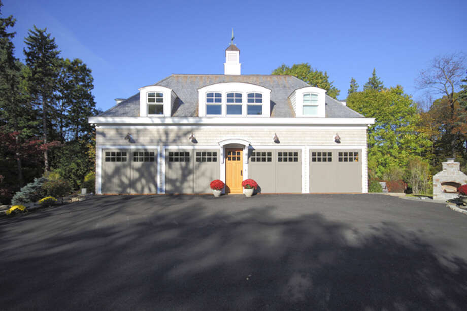 Rich Rosetti's historic carriage house was renovated around his classic car collection. (Nancy Bruno/Life@Home)