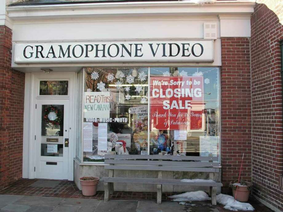 Gramophone Video is shutting down after nearly 40 years of business. Photo: Contributed Photo / New Canaan News