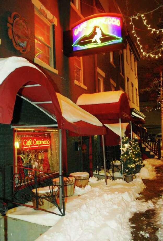Cafe Capriccio Photo: Luanne M. Ferris