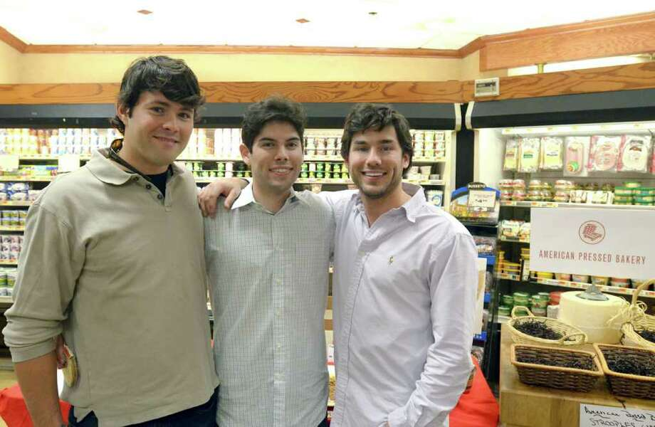 """The Stroople, an Americanized version of the Dutch """"stoopwafel"""" cookie, is the brainchild of Old Greenwich natives Jimmy Cabrera, Erik Ornitz and Darren Ornitz. The three have co-founded the American Pressed Bakery to produce the luscious treats. Photo: Contributed Photo / Greenwich Citizen"""