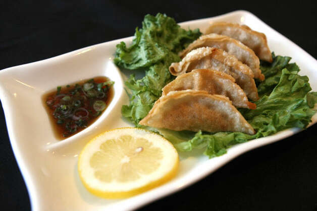 GyozaYummi Sushi, 24165 I-10 W. at the Leon Springs exit, 210-698-1650Most of us know these dumplings of goodness as pot stickers, and the simplicity of this dish belies their difficulty. These come out exactly how they should: slightly crisp on the bottom, chewy on top and not greasy. They're a great way to start an evening at one of the best sushi places in town. HELEN L. MONTOYA/hmontoya@express-news.net