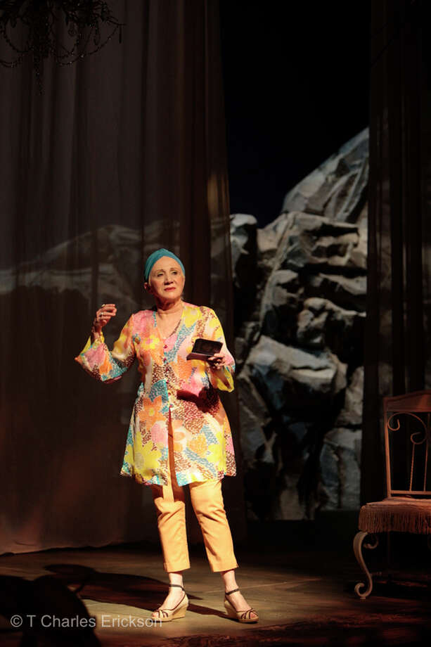 Oscar-winning actress Olympia Dukakis is returning to the role of Flora Goforth in a New York City transfer of the hit 2008 Hartford Stage production. Photo: Contributed Photo / Connecticut Post Contributed
