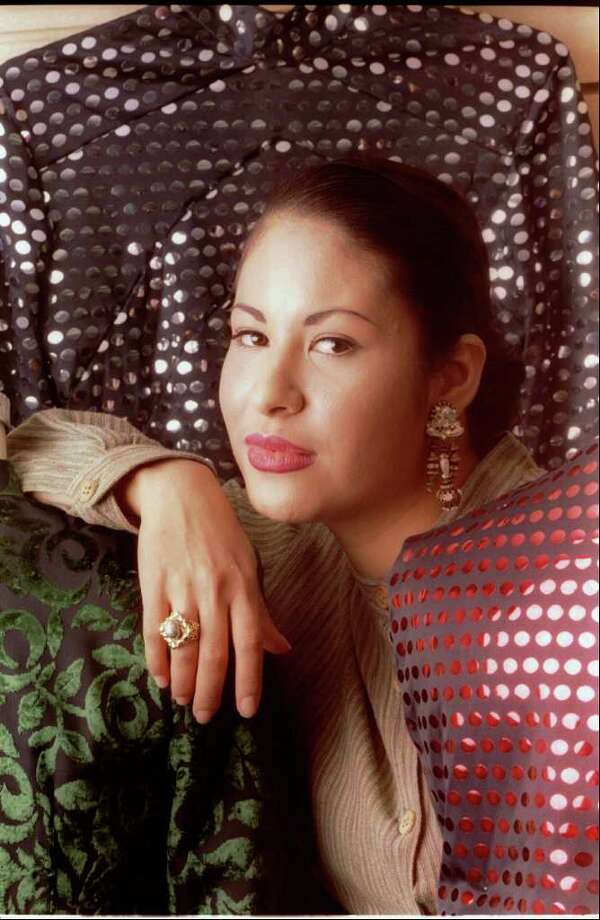 FILE - In this March 7, 1995 file photo, Tejano music star Selena poses in Corpus Christi, Texas. (AP Photo/Paul Howell, Houston Chronicle, file) Photo: PAUL HOWELL, MBO / San Antonio Express-News