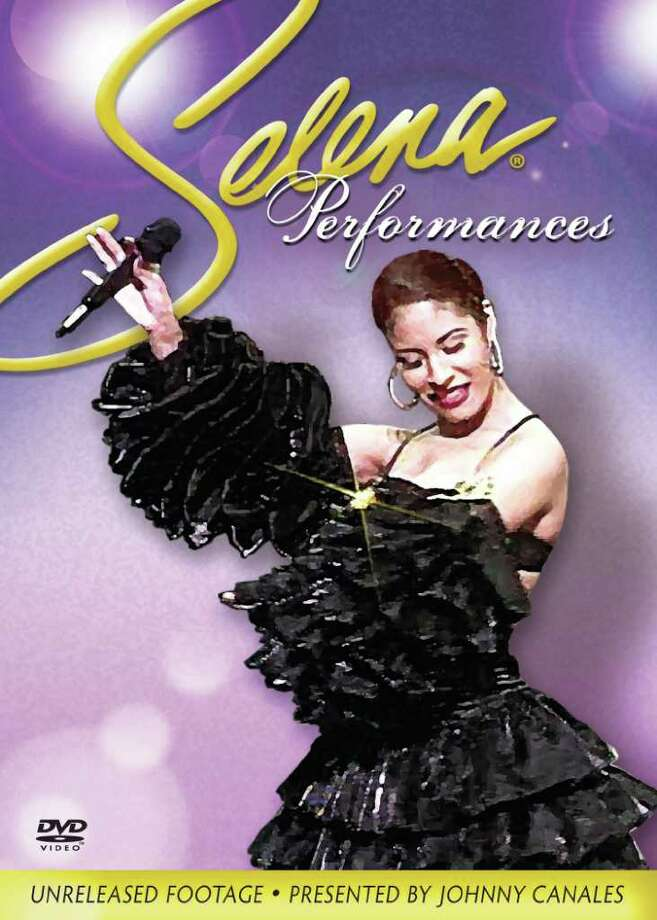 "Cover of the DVD, ""Selena Performances,"" containing the singer's appearances on ìThe Johnny Canales Show.î"