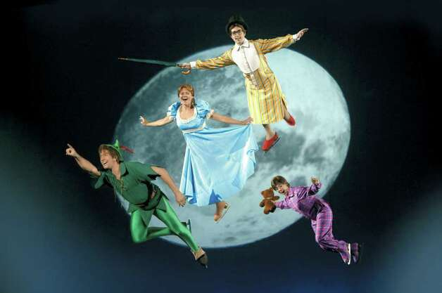 "Peter Pan soars with friends to Never Land in the Disney on Ice production of ""Mickey & Minnie's Magical Journey,"" which comes to the Arena at Harbor Yard in Bridgeport Jan. 12-17. Photo: CONTRIBUTED PHOTO"