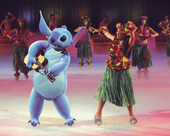 "Lilo and friends visit Hawaii in ""Mickey & Minnie's Magical Journey,"" which comes to Bridgeport Jan. 12-17. Photo: CONTRIBUTED PHOTO"