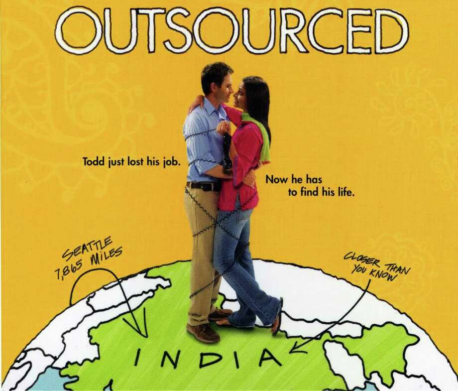 "Josh Hamilton and Ayesha Dharker star in the 2006 comedy ""Outsourced,"" one of four films to be screened as part of the Indepedent Film Series at the Darien Library. Photo: Contributed Photo / Connecticut Post Contributed"