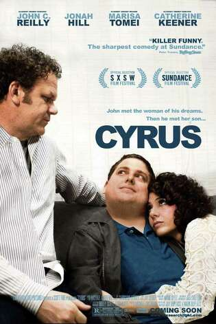 "John C. Reilly, Jonah Hill and marisa Tomei star in ""Cyrus,"" one of four films to be screened as part of the Indepedent Film Series at the Darien Library. Photo: Contributed Photo / Connecticut Post Contributed"
