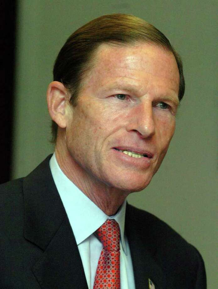 Richard Blumenthal. Photo: Chris Ware, ST / The News-Times