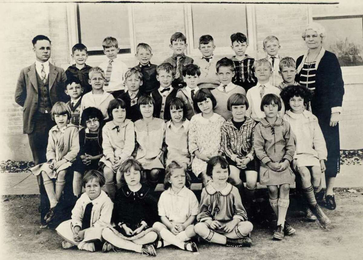 Photo of first-grade class at Alamo Heights School in 1926.
