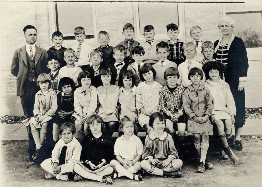 Photo of first-grade class at Alamo Heights School in 1926. Photo: Courtesy Of Jim Earl