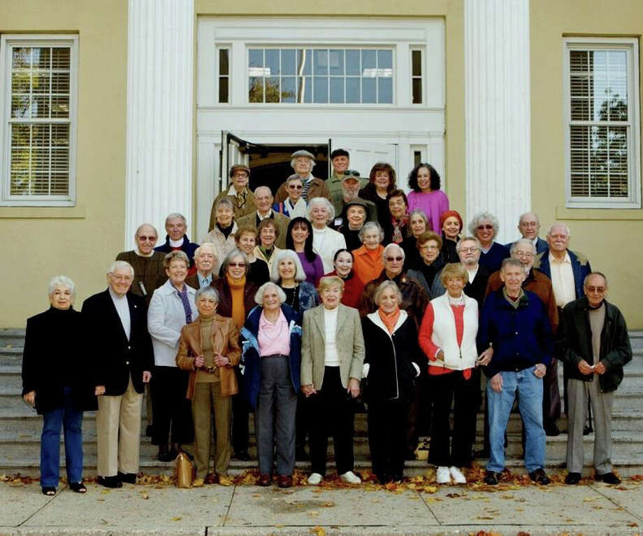 """This group of artists from Westport and Weston, ranging in age from 70 to 95 years old, is featured in the documentary, """"Years in the Making: A Journey into Late Life Creativity."""" It will be broadcast at 8 p.m. Thursday by Connecticut Public Television. Photo: Contributed Photo / Westport News contributed"""
