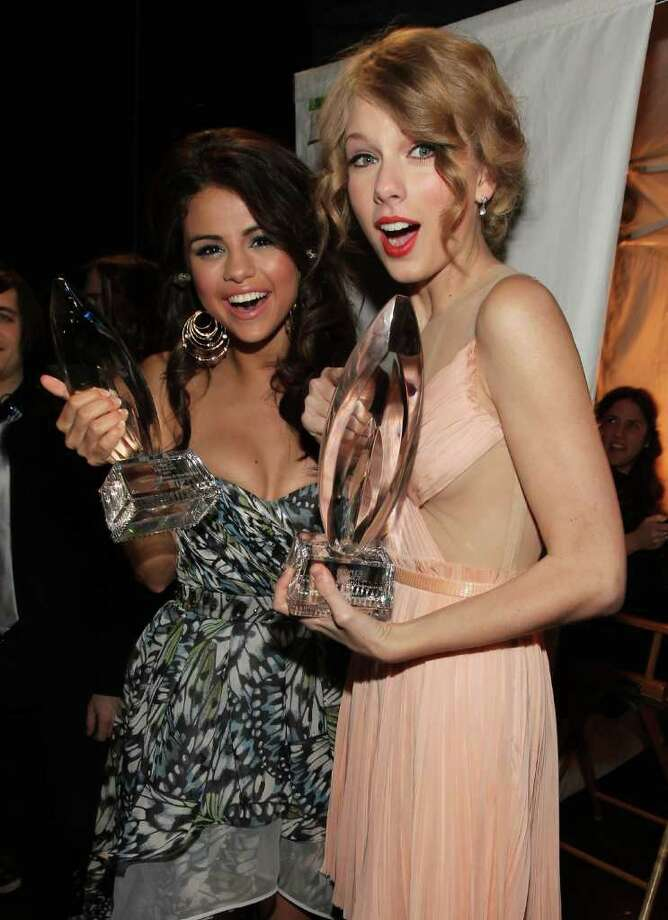 This one really isn't Justin Bieber's fault, per se. It seems the public-at-large aren't the only ones sick of Bieber's bad behavior. In August 2013, it was reported that Taylor Swift hasn't particularly warmed up to her BFF Selena Gomez's on again, off again pop star boyfriend. (And these sentiments are possibly causing tension between the girls.) Photo: Christopher Polk, Getty Images For PCA / 2011 Getty Images