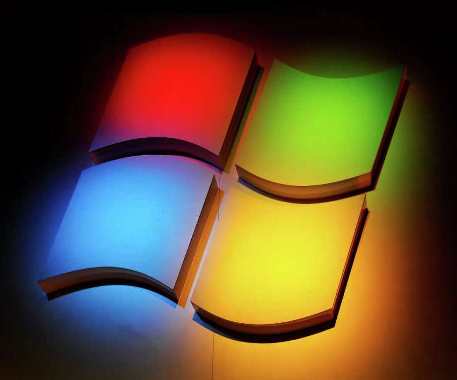 Here's the old Windows logo, shown at the 2011 International Consumer Electronics Show January 5, 2011 in Las Vegas. Photo: ROBYN BECK
