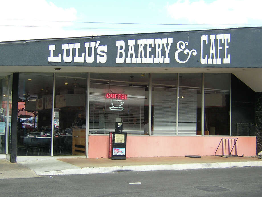 "Lulu's Bakery & Cafe: 918 N. Main Ave., San Antonio, TX 78212 Date: 03/29/2018 Score: 61 Highlights: Inspector observed 30 lbs of macaroni noodles, 5 lbs of chicken soup held at wrong temperature; employee seen breaking raw, shelled egg, then continue to handle clean dishes and ready-to-eat foods without changing gloves; non-food contact surfaces must be clean to sight/touch (""vast amount"" of food debris and grease seen on floors throughout establishment; buildup on equipment); food-contact surfaces must be clean to sight/touch (soiled knives); prepared foods must be labeled with expiration date; accurate thermometers not found in coolers; sanitizer bucket stored on shelf next to clean utensils; no Certified Food Manager present at time of inspection Photo: Express-News"