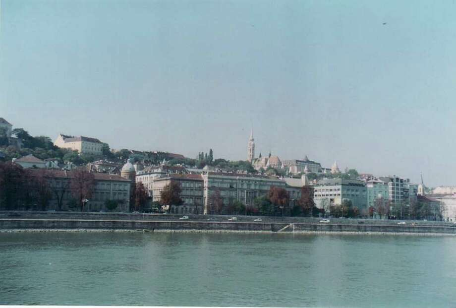 The view across the Danube to Budapest's Castle Hill. Photo: Contributed Photo / New Canaan News
