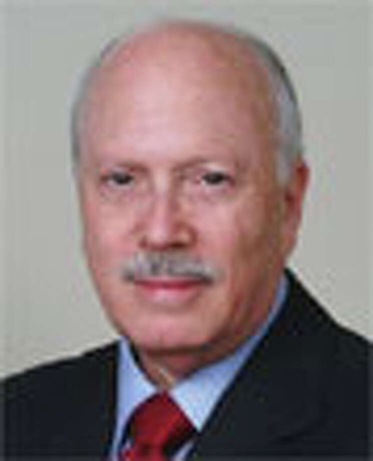 First Selectman Gordon Joseloff warns that a flat budget for fiscal year 2011-12 will mean layoffs. Photo: Contributed Photo / Westport News