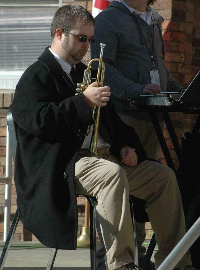 JJH memorial tribute to Connor Day Photo: Jimmy Galvan
