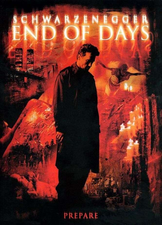 """End of Days"" - 1999  Let's hope this Terminator is armed and dangerous when Satan comes."