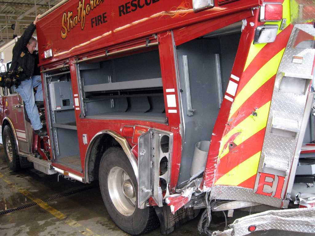 Officials 2 Firetrucks Lost In Crash Saved Lives
