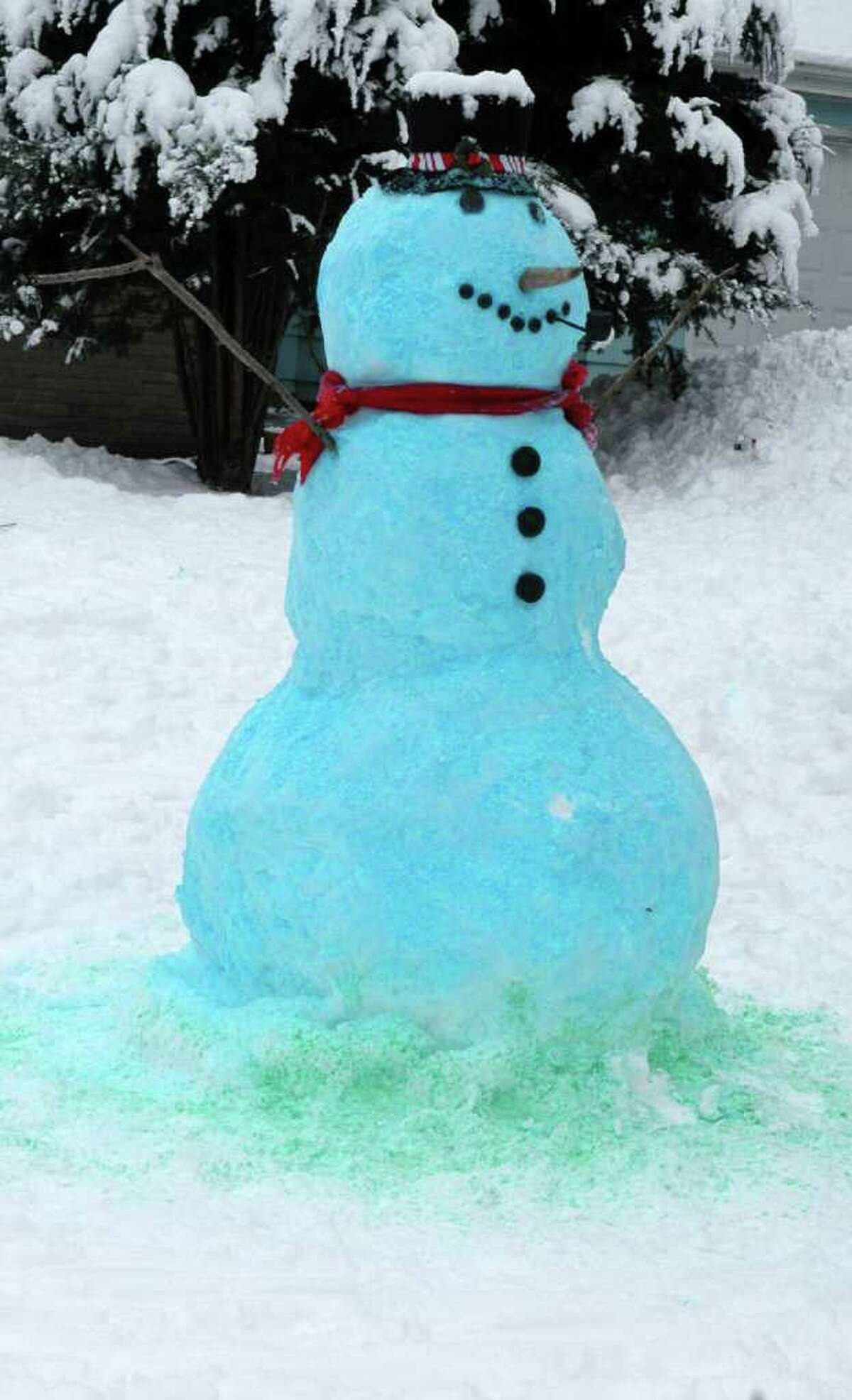 Snowmen get the