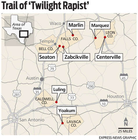 Twilight Rapist' suspect arrested - San Antonio Express-News