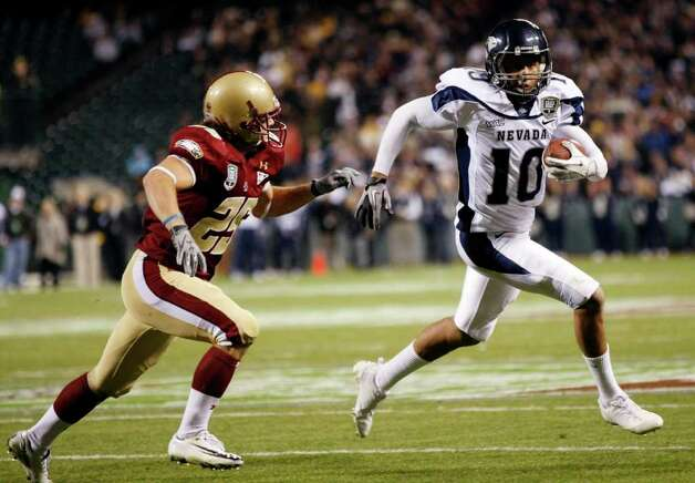 f39af5d87 MOST FAMOUS ALUM Colin Kaepernick starred for four seasons (2007-10) at  Nevada.