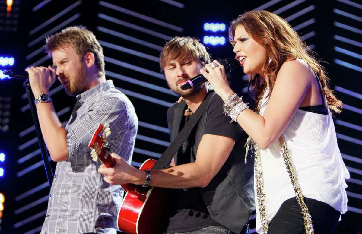 Lady Antebellum (March 11). Wade Payne/The Associated Press