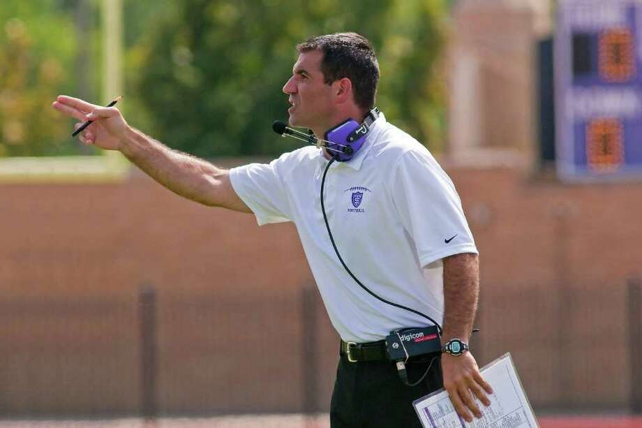 Nearly two decades after graduating from Greenwich High School, University of St. Thomas Glenn Caruso has been named the 2010 Liberty Mutual Division III National Coach of the Year, capping off the biggest three-year turnaround among all 640 NCAA programs. Photo: Contributed Photo / Greenwich Time Contributed