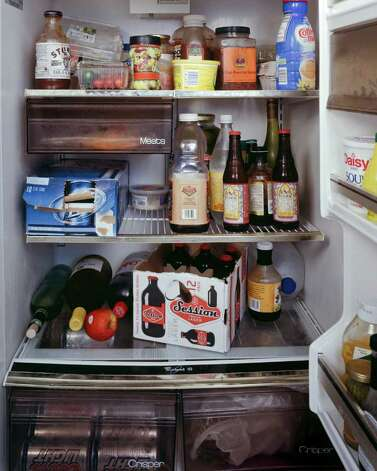 Photo of filmmakers' fridge by Mark Menjivar for You Are What You Eat.